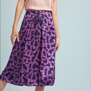 Zadie Lace Up Skirt by Maeve
